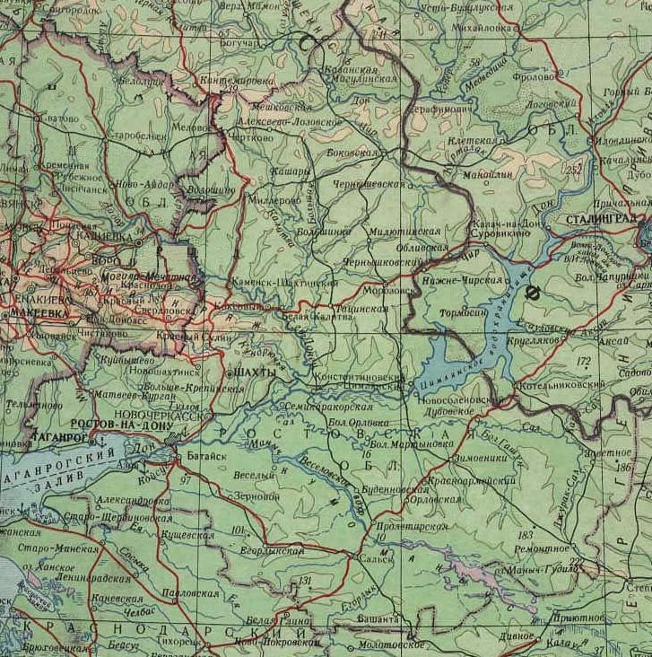Карта Ростов, подробные карты Ростова.